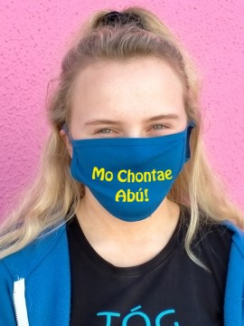 Mo Chonte Abú. Face  Covering
