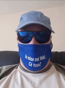 Is mise mé féin. Face Cover