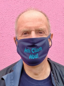 Ath Cliath Abú!. Face  Covering
