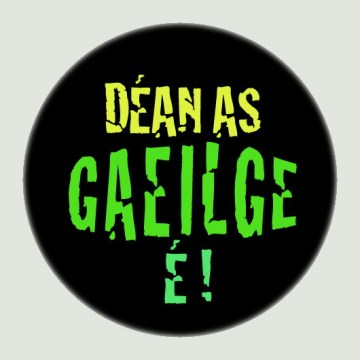 dean_as_gaeilge_e_badge