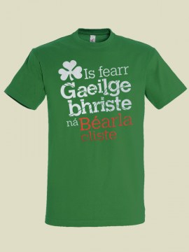 is-fearr-gaeilge-bhriste